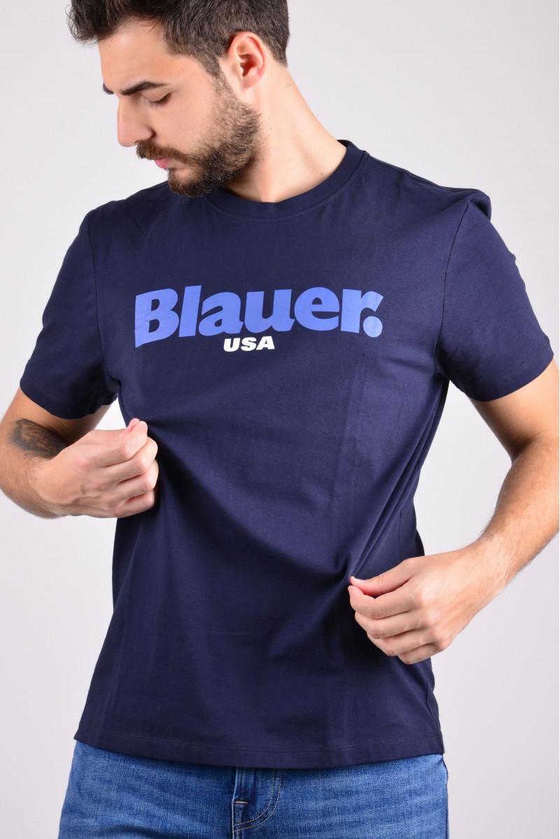 BLAUER T-SHIRT MM MAGLIERIA...