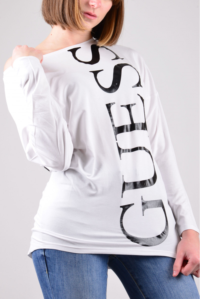GUESS T-SHIRT ML MAGLIERIA...