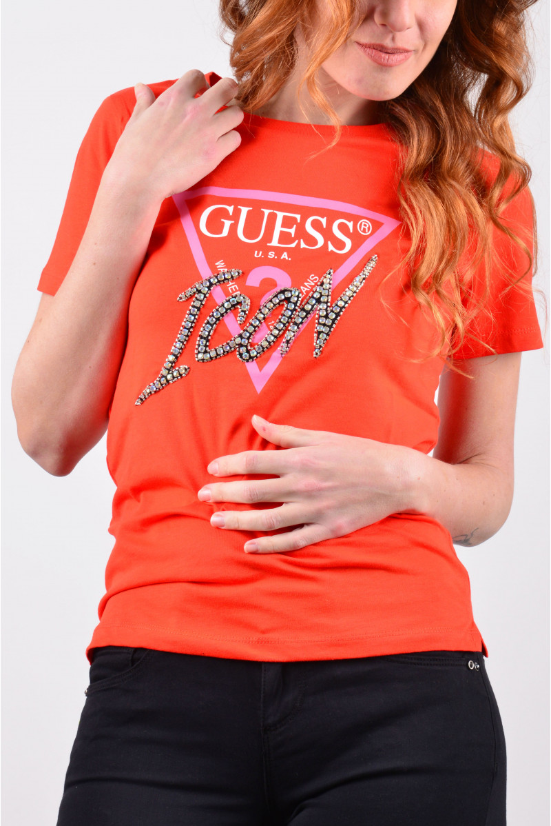 GUESS T-SHIRT MM MAGLIERIA...