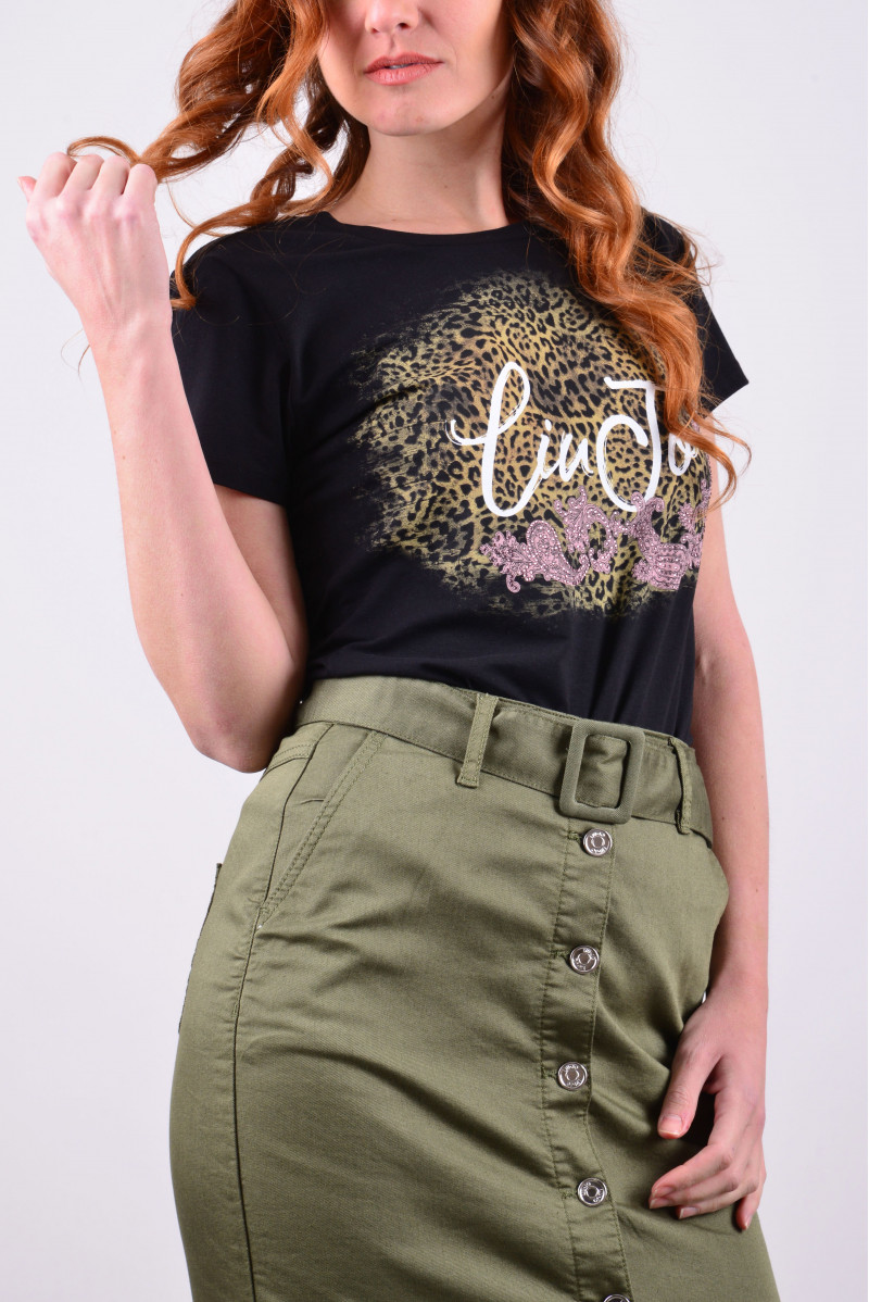 LIU JO T-SHIRT MM MAGLIERIA...